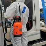 Covid- 19  Vehicle Sanitising